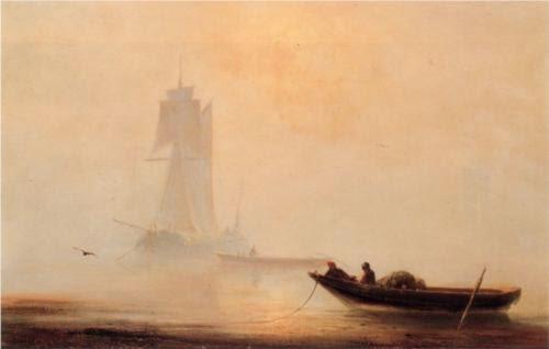 Ivan Aivazovsky Fishing Boats