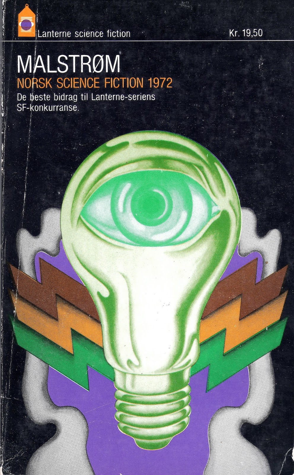 norwegian vintage paperback scifi book covers
