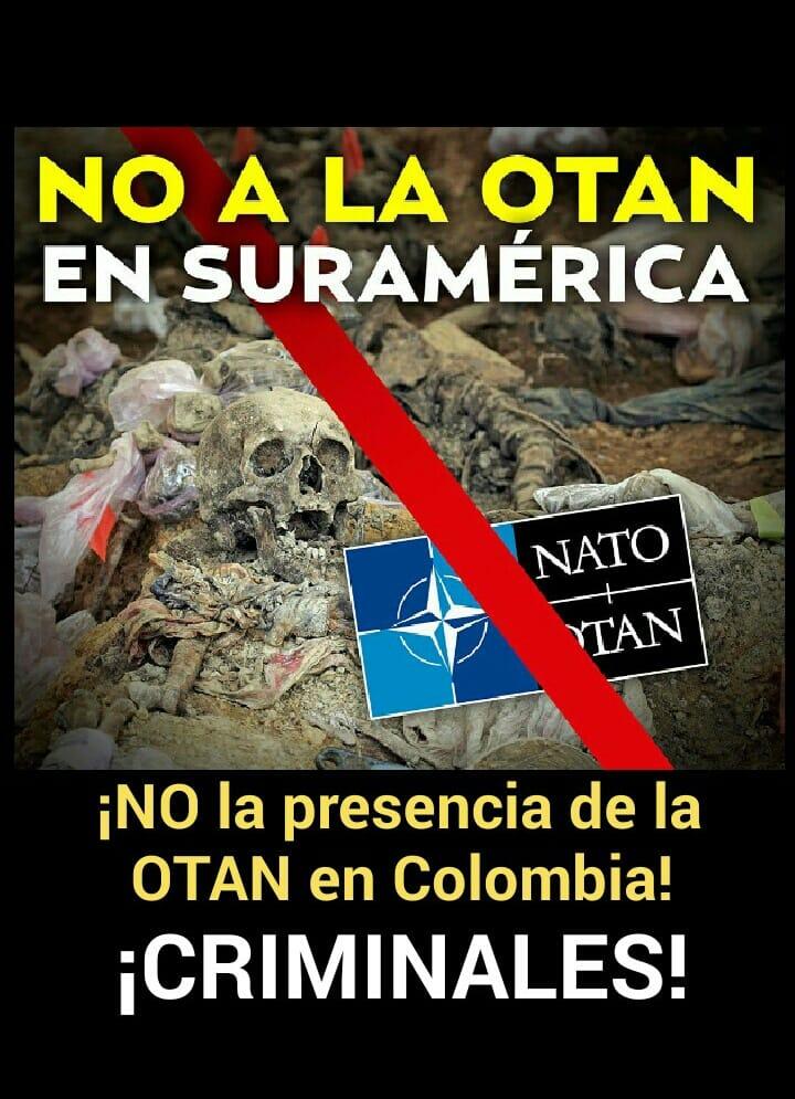 NO A LA OTAN EN SURAMERICA...