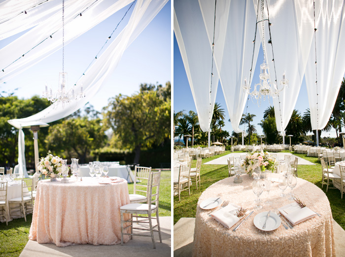 Soigne Productions Santa Barbara Wedding Planner Blush Wedding At The Santa Barbara Zoo