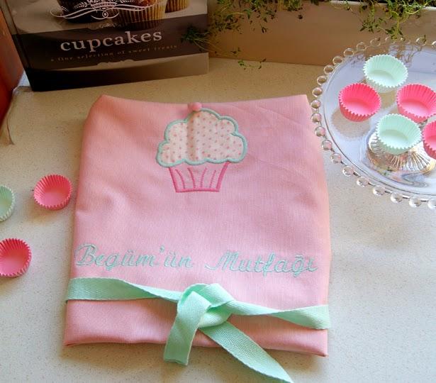 Cupcake Mutfak Önlüğü