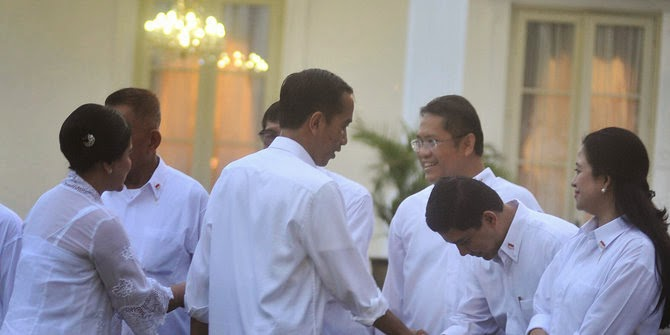 Ini Tradisi Kabinet yang Hilang di Era Jokowi