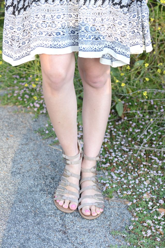 koolaburra gladiator sandals, M Loves M