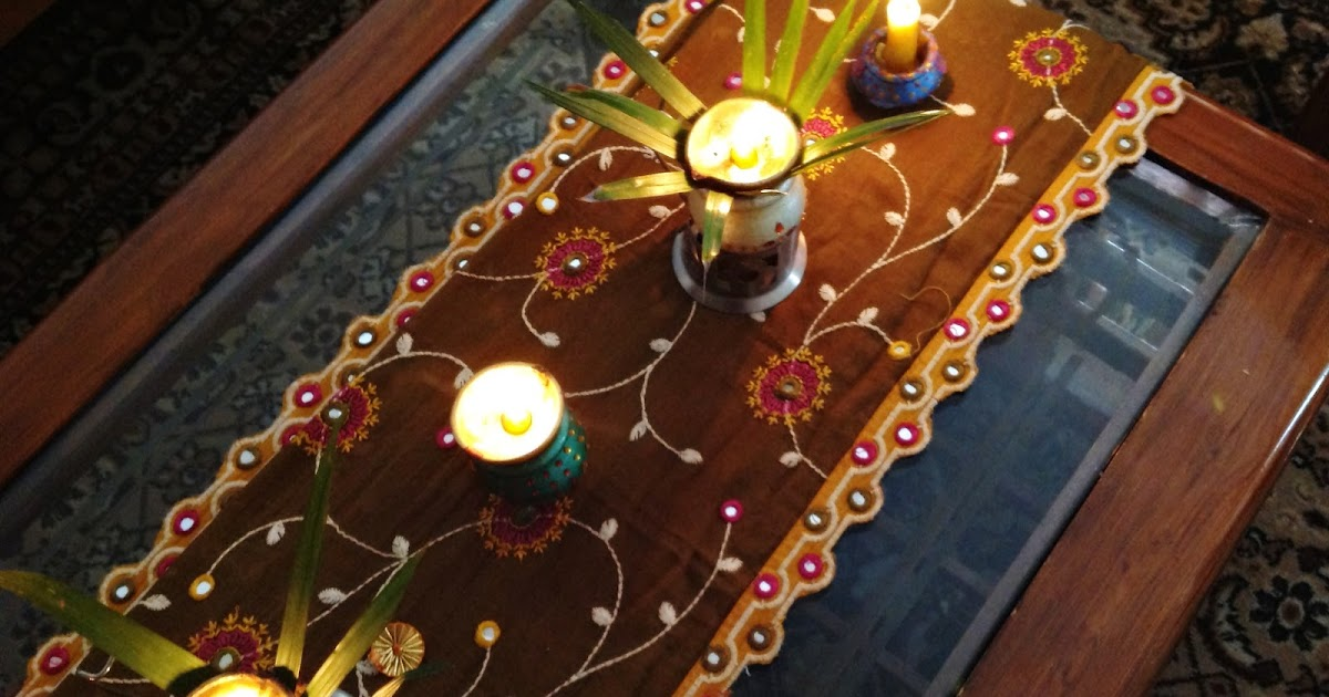 Design decor disha diwali craft home decor for Home decorations in diwali