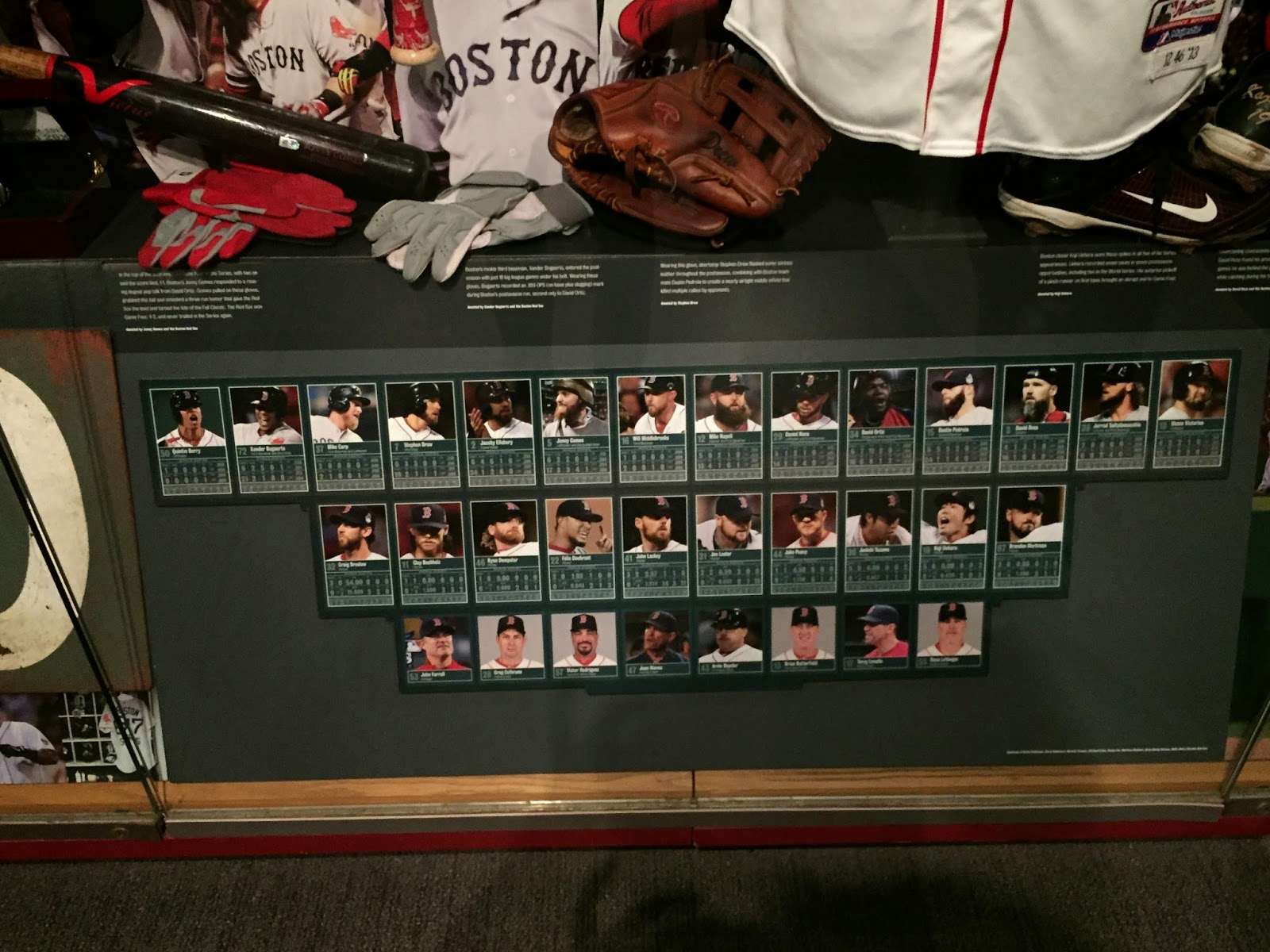 2013 Red Sox World Series Roster