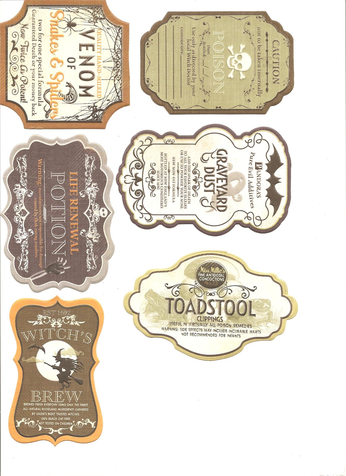 This is a photo of Breathtaking Printable Potion Labels