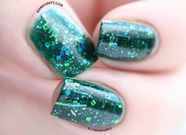 Manicurity | Pahlish El Topo Petit and Toxic and Timeless (Version Two) - Swatches & Review
