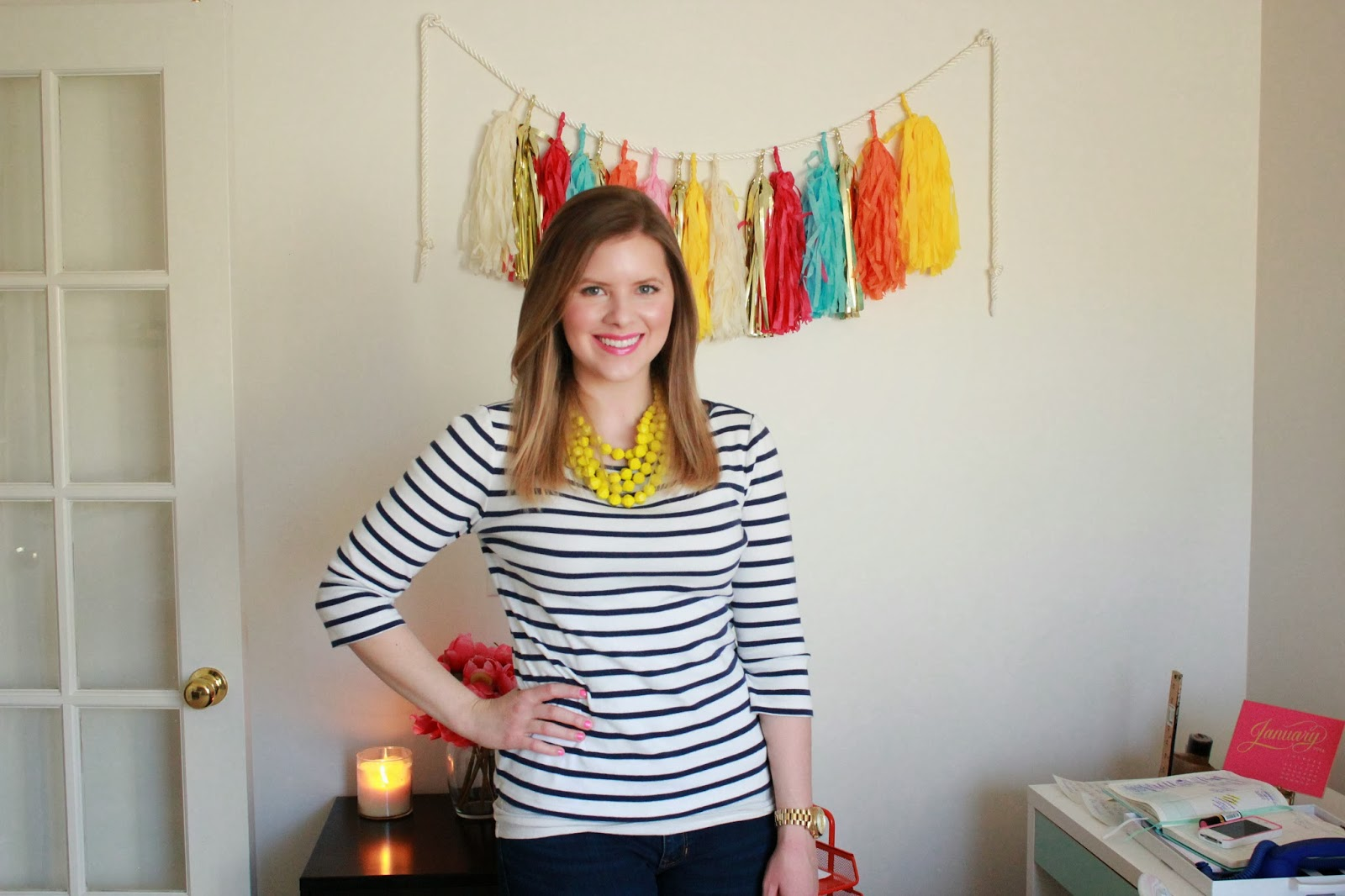 FASHION FRIDAY: STRIPES AND BRIGHTS