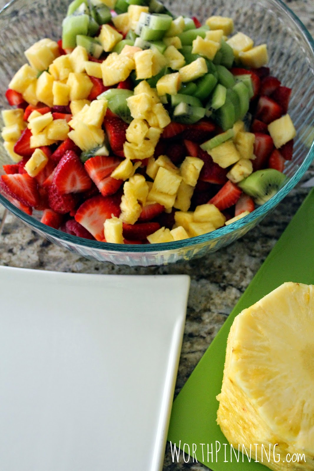 how to turn fruit salad into breakfast