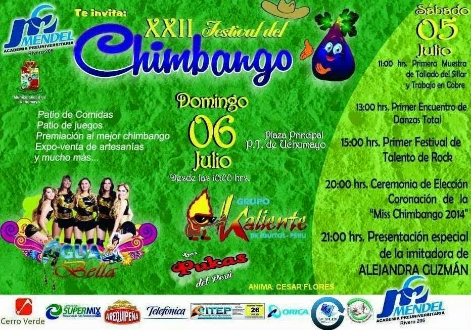 Festival del Chimbango - Arequipa 2014