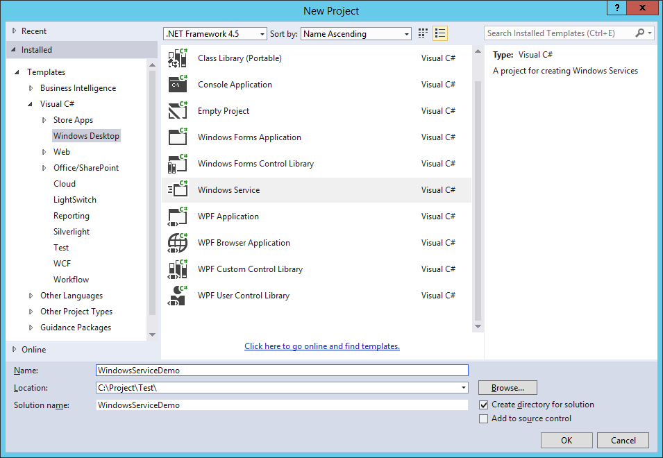 how to create dll in c# visual studio 2013