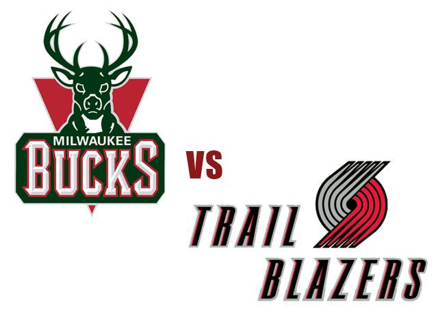 Mega Hoops Bucks Vs Blazers Highlights NBA 2012 13