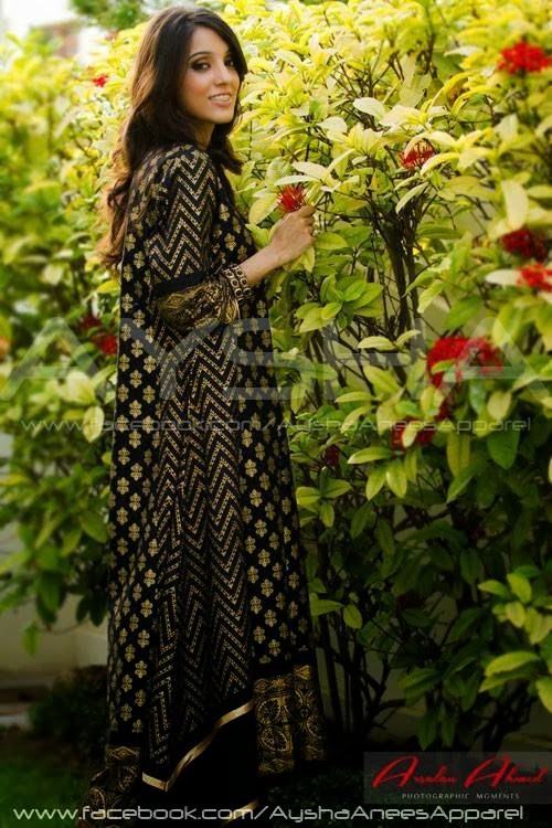 Pakistani-dresses-black-2013
