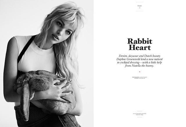 Дафни Гроеневелд (Daphne Groeneveld) в черно-белой фотосессии
