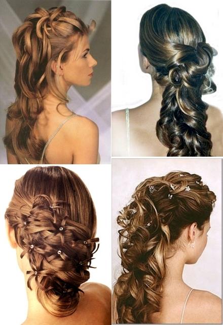 en esta galera de imagenes de peinados de boda podis apreciar ms claramente los diferentes tipos de para pelo liso como podis ver se crea