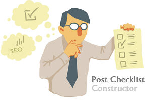 seo checklist for post