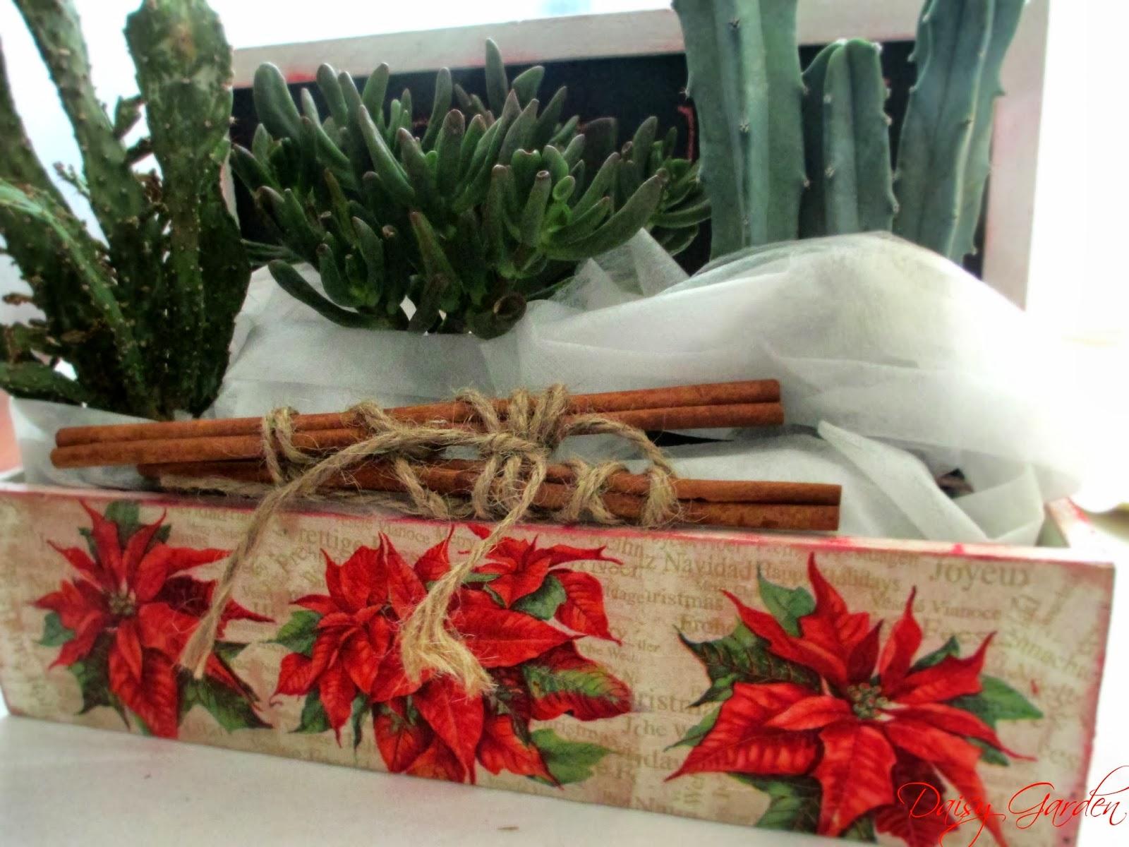 Favorito Daisy Garden: I Regali di Natale - Una cassetta di legno con  NV84