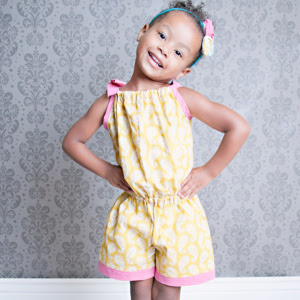 The Bree Romper PDF Sewing Pattern