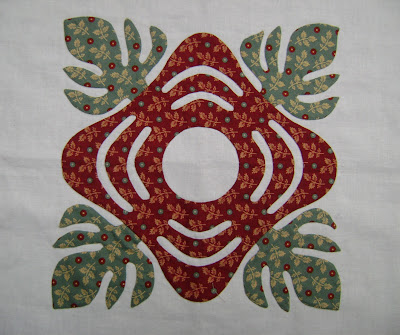 Chester County Criswell quilt Block #6