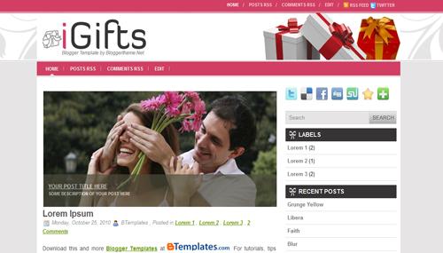 Templates Blogger Navidad