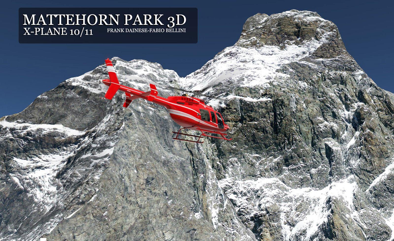 MATTERHORN PARK 3D X-PLANE