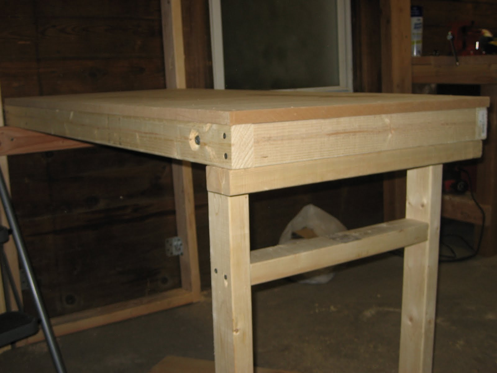 Wood Shave Folding Workbench