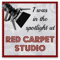 I was in the Spotlight at the Red Carpet Studio