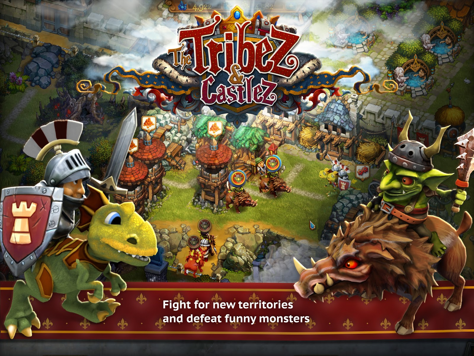 Cheat Gems & Level The Tribez & Castlez