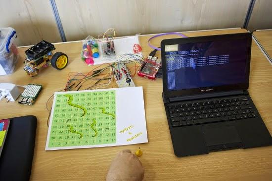Jogo de tabuleiro com raspberry pi
