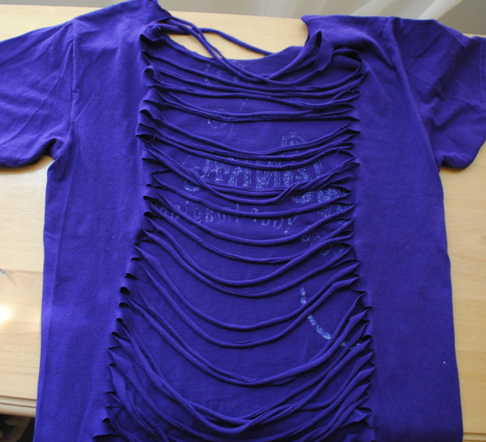 Фото идеи для переделки футболок