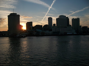 Sailing out of New Orleans