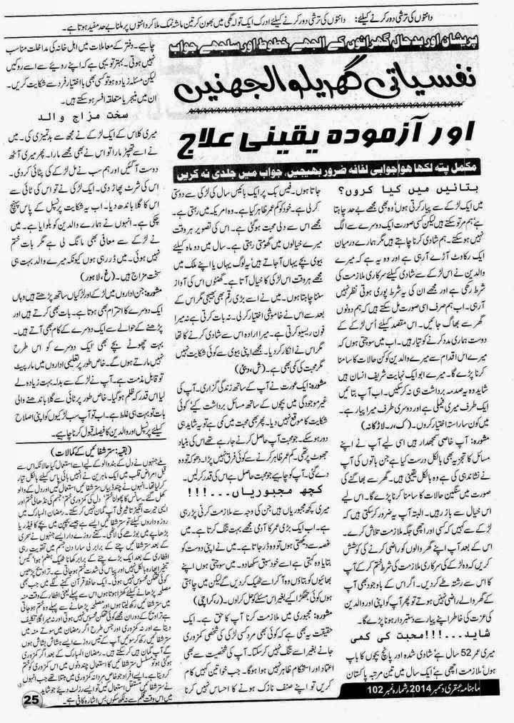 Ubqari Magazine December 2014 Page 25
