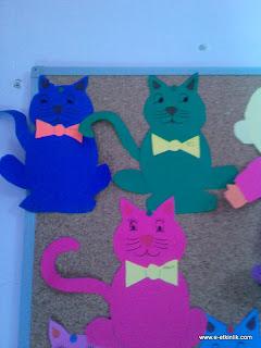 okul öncesi kedi etkinliği