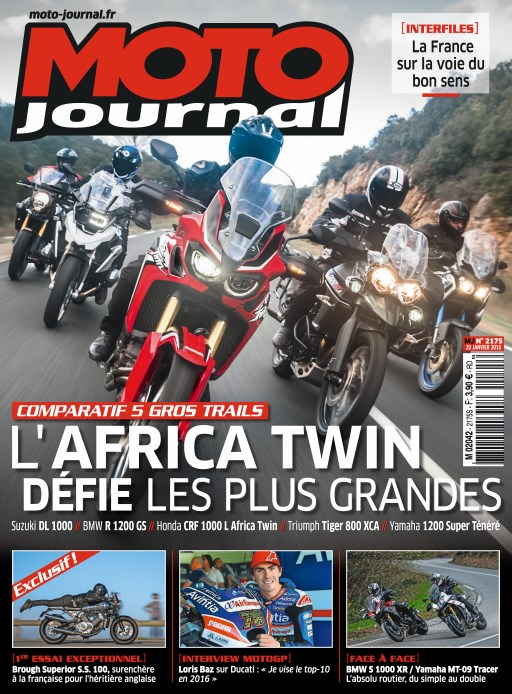 africa twin essai moto journal comparatif. Black Bedroom Furniture Sets. Home Design Ideas