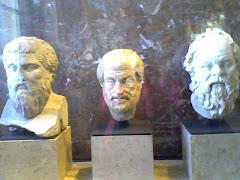 Los filósofos en el Louvre
