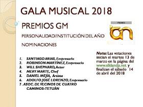 La A.V. Cuatro Caminos-Tetuán nominada a los Premios GM Personalidad/Institución del año