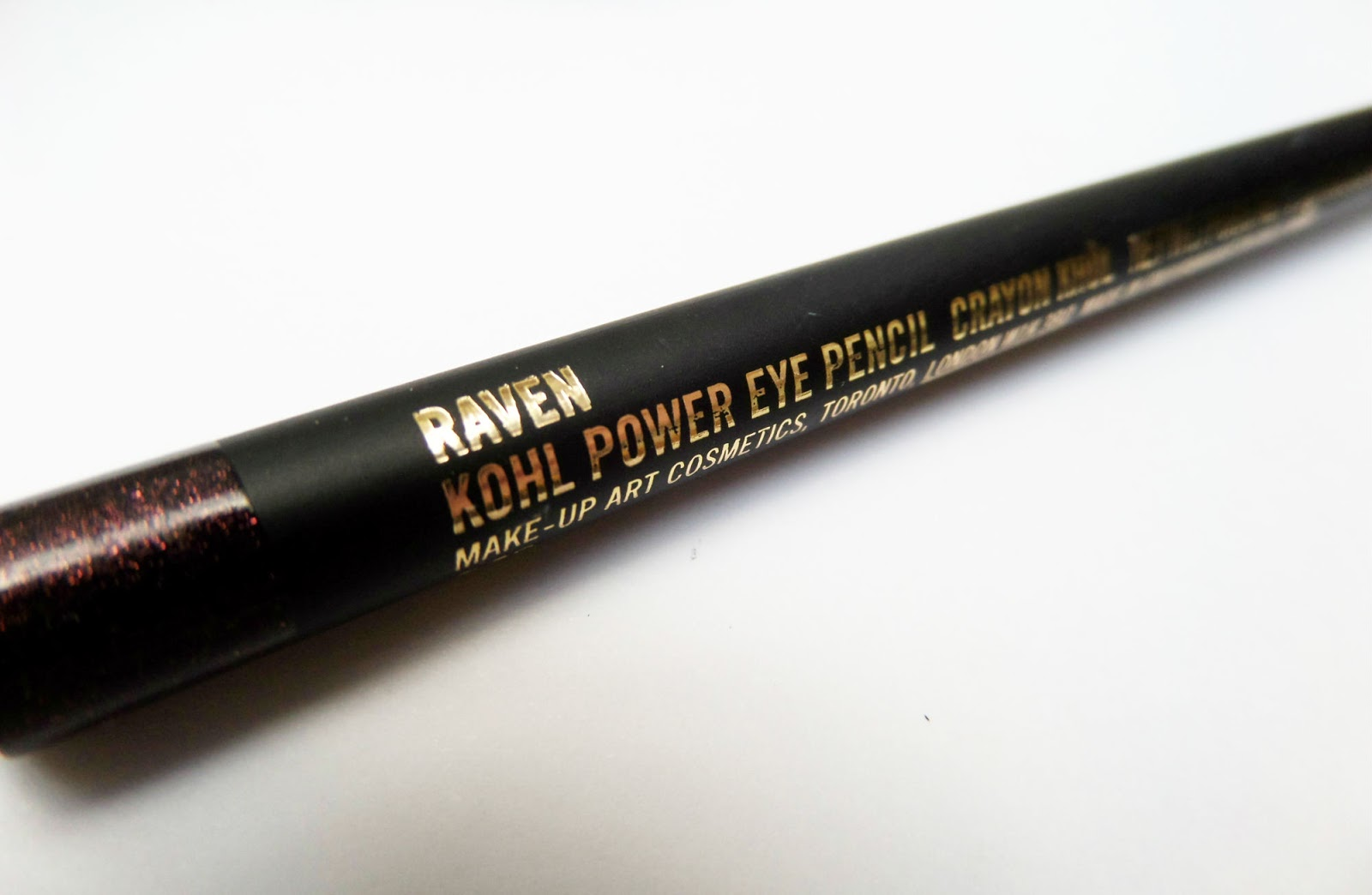 MAC Kohl Power Eye Pencil. Shade - Raven
