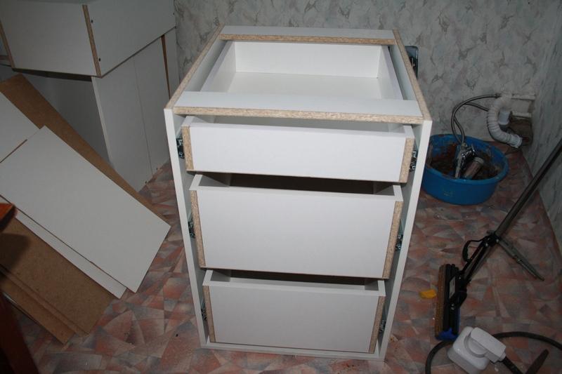 Ящик для тумбы своими руками