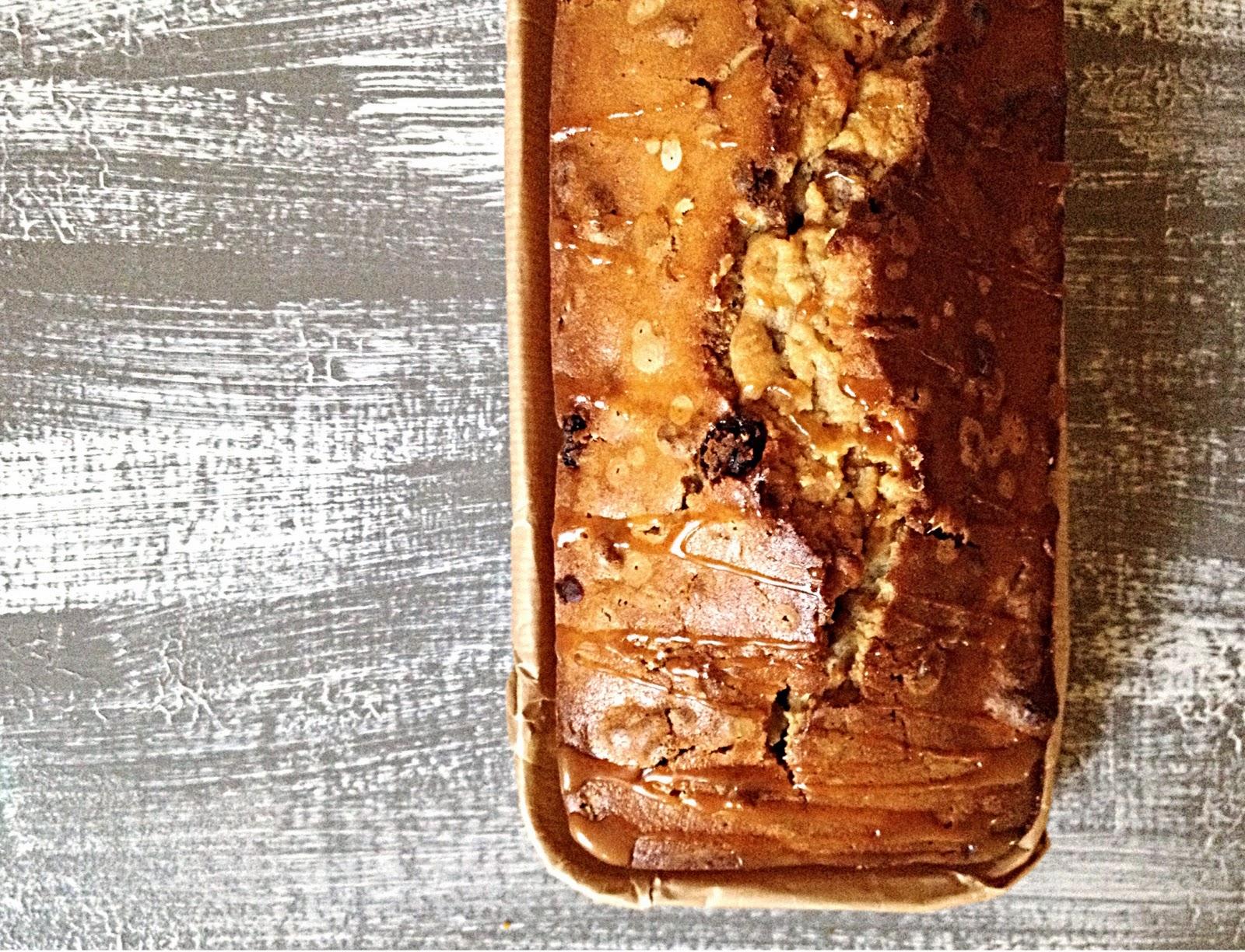 Bizcocho pan de pasas y nueces