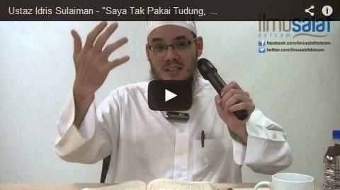 """Ustaz Idris Sulaiman – """"Saya Tak Pakai Tudung, Tapi Hati Saya Baik"""""""