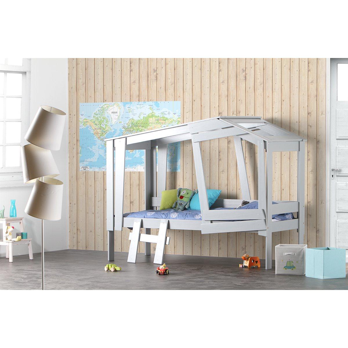 les lits cabane pour enfants la mouche 3 fois rien. Black Bedroom Furniture Sets. Home Design Ideas