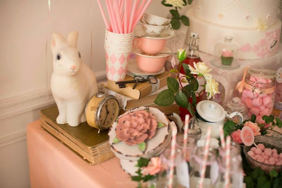 lapin porcelaine décoration