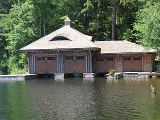 Store your boats and water toys in a beautiful timber frame boathouse