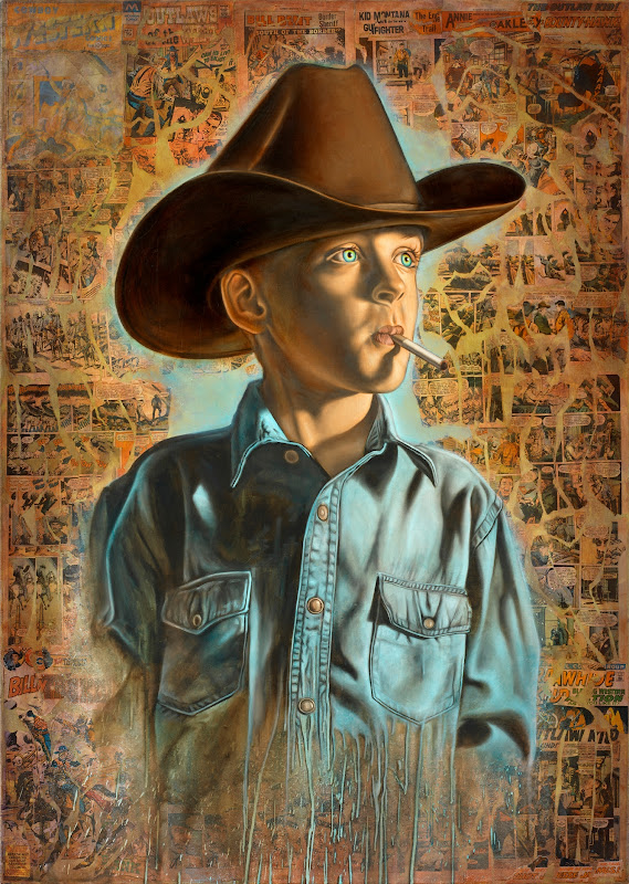Cowboy Cool by Ron English
