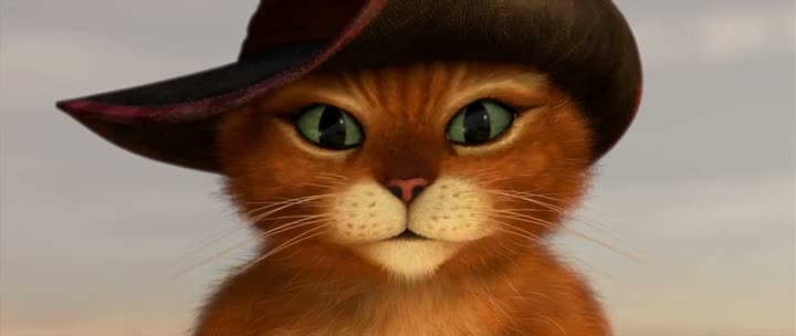 Screen Shot Of Puss in Boots (2011) Dual Audio Movie 300MB small Size PC Movie