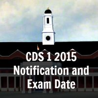 CDS 1 2015 Notification and Exam Date
