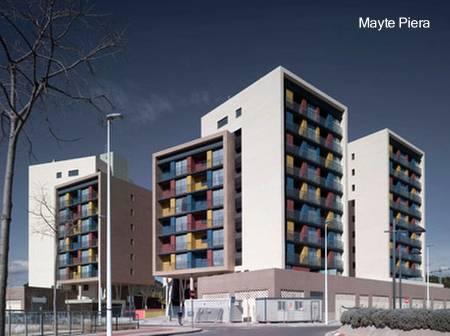 Arquitectura de casas edificios de apartamentos for Edificios modernos de departamentos