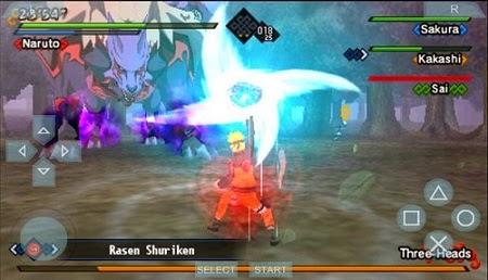 Download Naruto Shippuden Kizuna Drive PSP