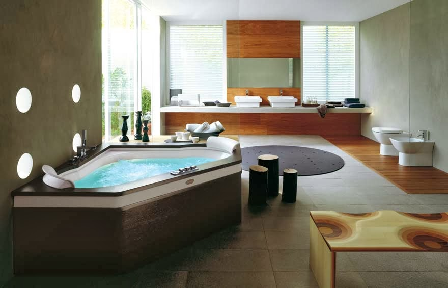 spa bathroom - ideas to turn your bathroom into spa