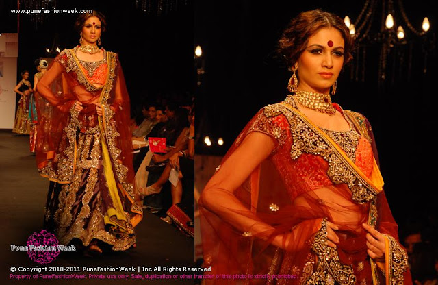 Vikram Phandis's Collection at ABIL Pune Fashion Week 2012 ~ Exclusive HQ Images